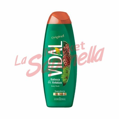 Gel de dus original cu pin clasic Vidal – 500 ml